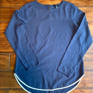 The limited blue top - Small